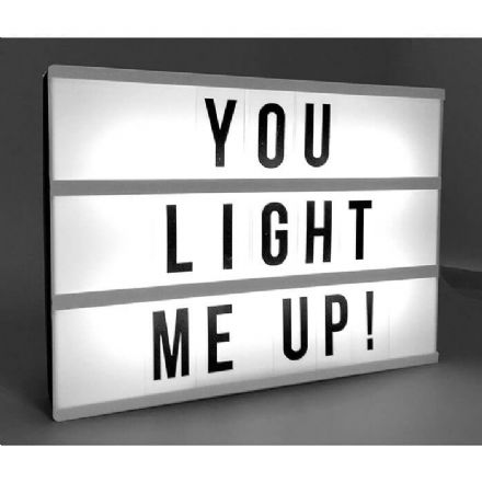 Your Own Message Light Up Box